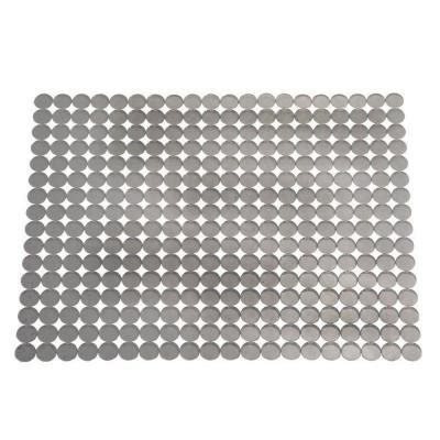 Sink Mat Home Depot by Interdesign Orbz Large Sink Mat In Graphite 70663 The