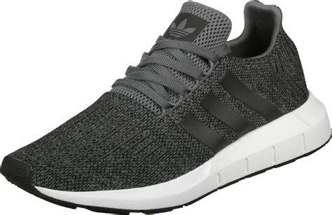 green mens adidas run shoes grey black white