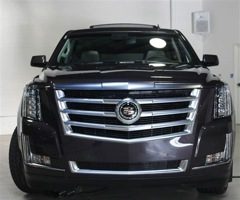 cadillac escalade the updated cadillac escalade has lost some serious weight