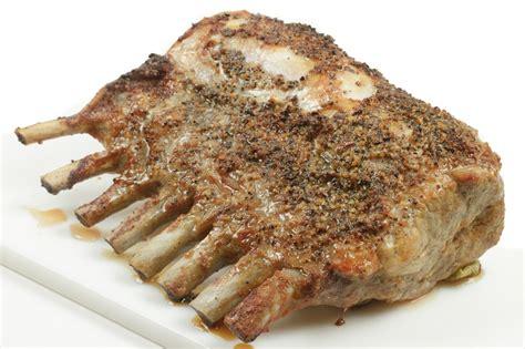 oven roasted rack of oven roasted rack of pork recipe