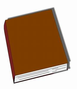 Closed Brown Book Clip Art at Clker.com - vector clip art ...