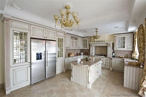pictures of antique white kitchen cabinets traditional antique white kitchen cabinets home