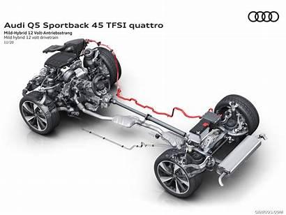 Audi Sportback Q5 Drivetrain Mild Volt Hybrid