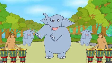 baby elephant english nursery rhymes cartoonanimated