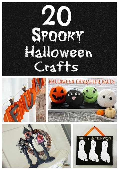 Life With 4 Boys 20 Halloween Craft Ideas For Kids