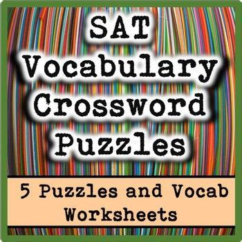 printable sat vocabulary worksheets learning