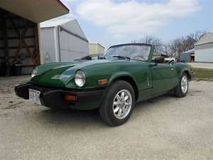 Find Used 1980 Triumph Spitfire 1500 Hard Top Overdrive No Reserve  In Franksville  Wisconsin