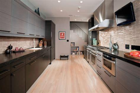 contemporary galley kitchen sleek kitchen contemporary kitchen chicago by 2456