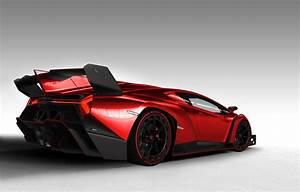 Lamborghini Veneno Red, lamborghini veneno hd wallpapers ...