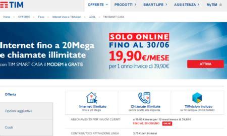 Offerta Tim Adsl Casa by Offerte Adsl Tim Promozioni In Scadenza Komparatore It