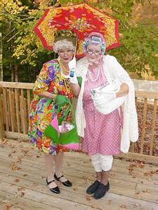 Funny Old Lady Costume