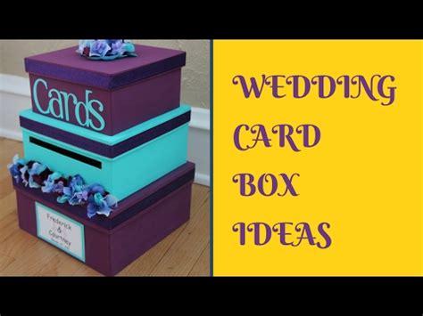 diy wedding card box ideas youtube