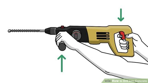 How To Drill Into Concrete 11 Steps (with Pictures) Wikihow