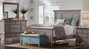 Belmar Gray 5 Pc King Panel Bedroom - King Bedroom Sets Colors