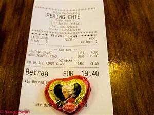 Die Rechnung : rechnung die nudelsuppe picture of peking ente berlin berlin tripadvisor ~ Themetempest.com Abrechnung