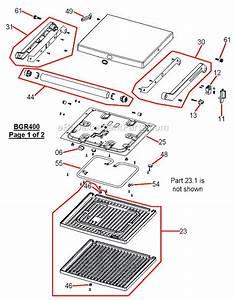 Breville Bgr400xl Parts List And Diagram