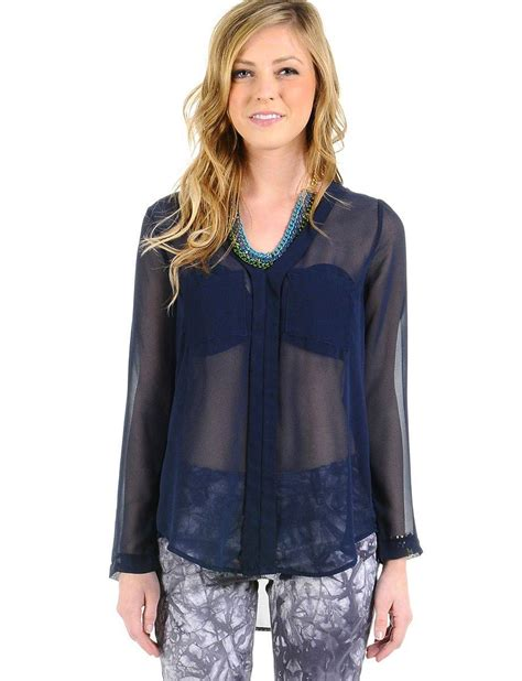 navy blouses 9 navy tops website psd images navy blue sheer blouses