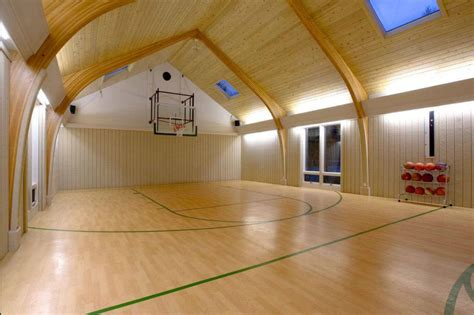 simple  fun indoor basketball court dimensions house  design
