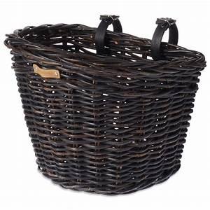 Fahrradkorb Vorne Anbringen : basil noir fahrradkorb weide vorne hinten nature black ~ Lizthompson.info Haus und Dekorationen