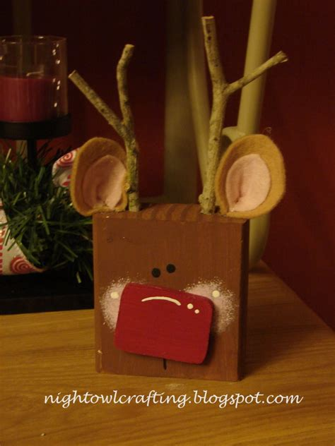 reindeer craft to sell owl crafting crafts