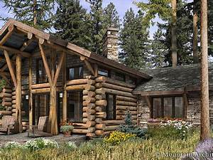 Wood Cabin House Modern Design Homes Romantic Cabins in ...