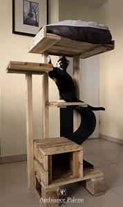 Arbre A Chat En Palette : arbre chat ambiance palette ~ Melissatoandfro.com Idées de Décoration