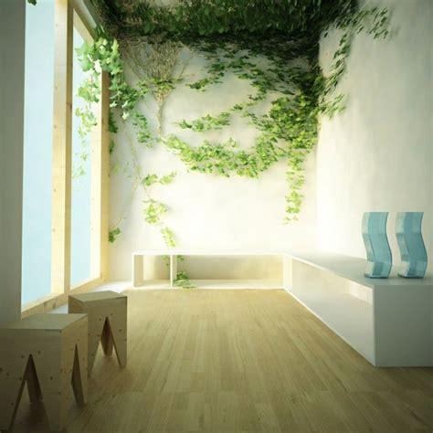 Frische Wanddekoration Mit Pflanzengreen Wall Plant Decor by W 228 Nde Streichen Wohnideen F 252 R Erstaunliche Wanddekoration