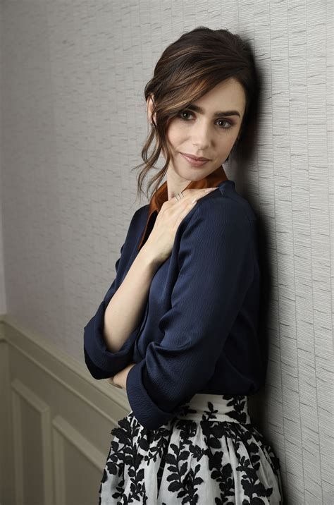 Lily Collins Portraits   The Associated Press, November 2016