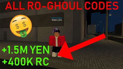 All Ro Ghoul Codes *25 Codes!!*