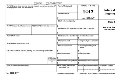 interest income form 1099 int what is it do you need it