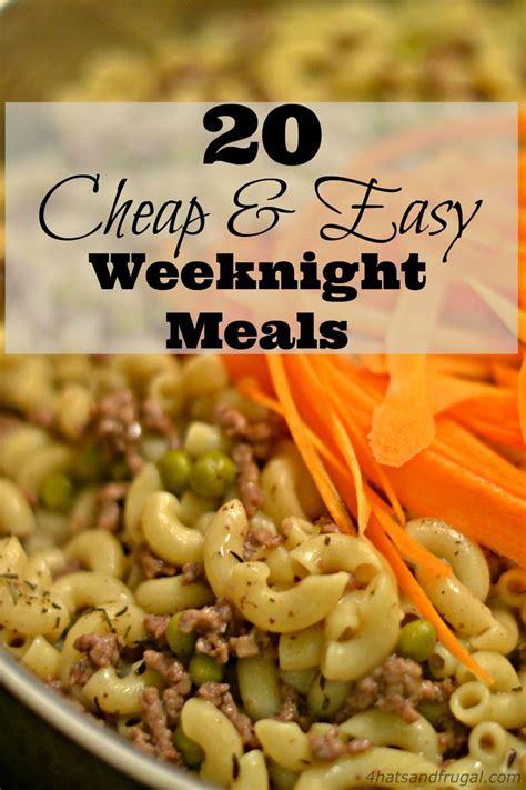Best 25+ Cheap Quick Meals Ideas On Pinterest  Cheap