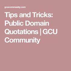 PUBLIC DOMAIN Q... Public Domain Travel Quotes