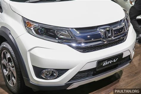 Honda Br-v Seven-seater Suv Previewed In Malaysia Image 576993