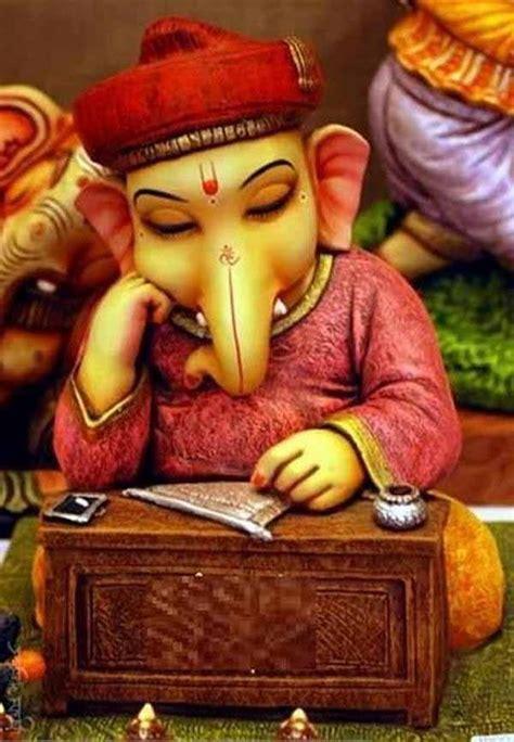 ganpati writing granth specially  studies  evalicious