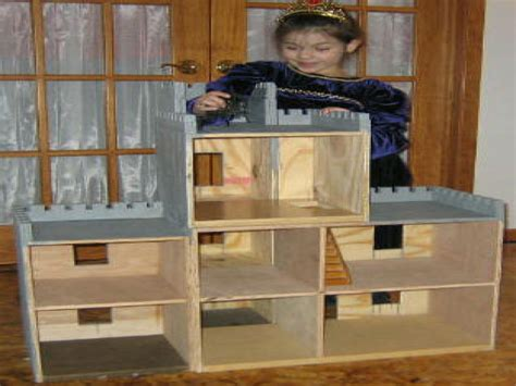 american doll house plans castle doll house plans
