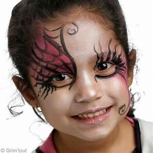 Maquillage D Halloween Pour Fille : maquillage dessin halloween ~ Melissatoandfro.com Idées de Décoration