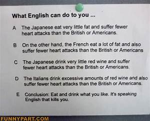 Speaking English Funny Picture