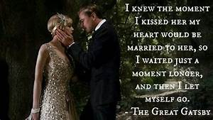 I knew the mome... Jay Gatsby Charming Quotes