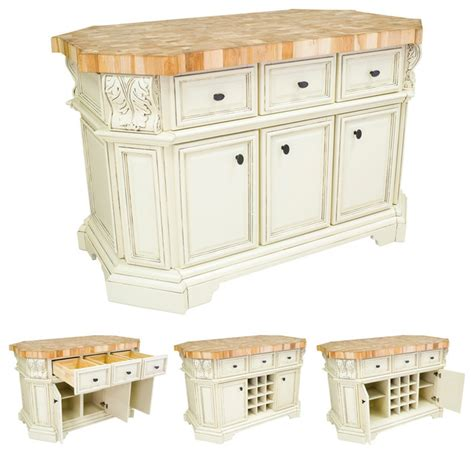 kitchen island without top lyn design isl06 awh white kitchen island without top
