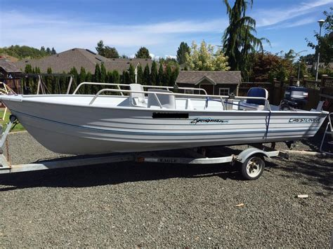 Used Aluminum Boats Bc by Crestliner Aluminum Boat Cbell River Courtenay Comox