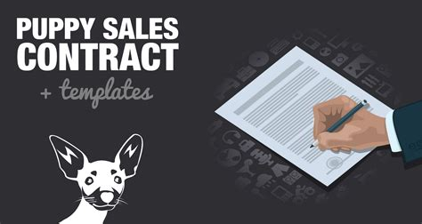 puppy sales contract template worddoc sample