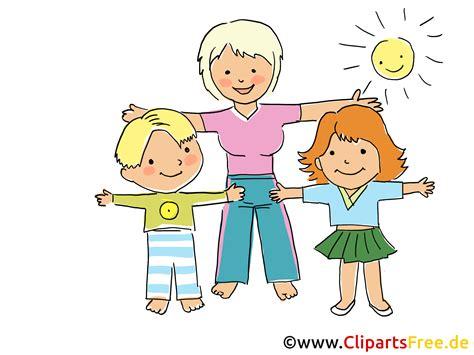 Spielendes Comic by Turnen Im Kindergarten Bild Clipart Grafik