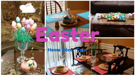 Easter Home Decor Styling: Easter Home Decor Tour