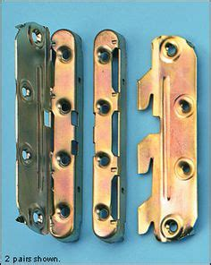 2052 bed rail fasteners surface mounted keyhole bed rail brackets bed rails
