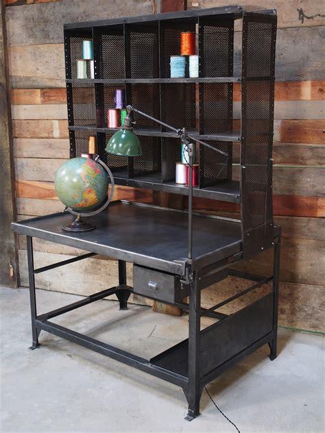 bureau postal meuble metier grand bureau tri postal industriel atelier loft