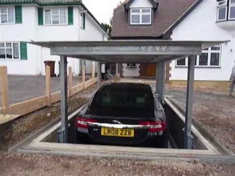 cost to install car lift in garage underground automatic car lift