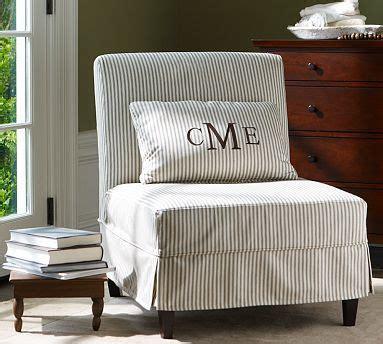 Slipper Chair Slipcover slipper chair slipcover note piping at cushion level