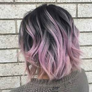 Pin by fisa on dark hair colored ends in 2019 | Cabello ...