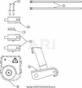 Troy Bilt 13wn77bs011 Pony  2017  Parts Diagram For Electrical