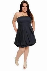 Robe Femme Ronde Chic : robe bustier pour les rondes ~ Preciouscoupons.com Idées de Décoration